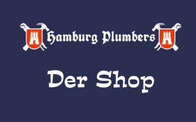 Ab jetzt könnt ihr das Hamburg Plumbers T-Shirt auch bestellen!