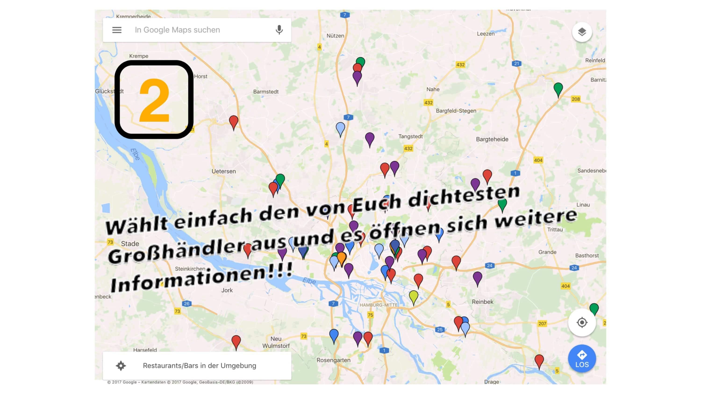 navigation mit google maps hamburg plumbers. Black Bedroom Furniture Sets. Home Design Ideas